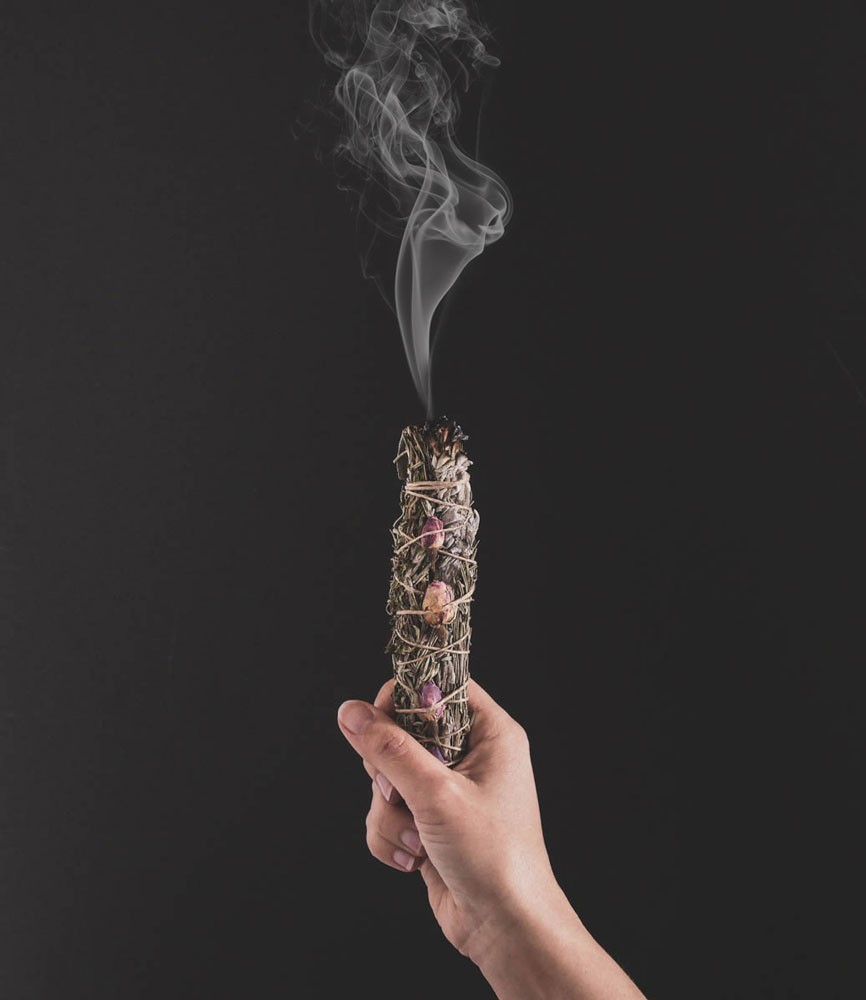 fumigation fumée smudge