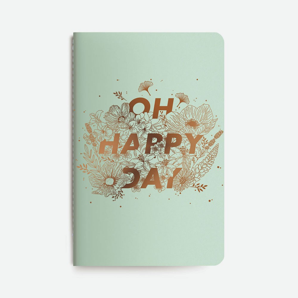 Carnet bleu - Oh Happy Day